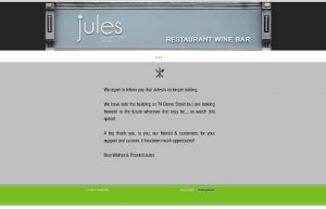 closed jules